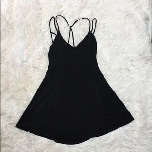 Silence + Noise little black dress size XS